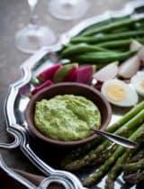 Fresh Herb Aïoli with Spring Vegetables | Le Grand Aïoli