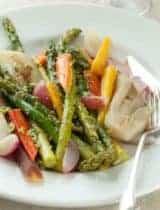 Braised Springtime Vegetables