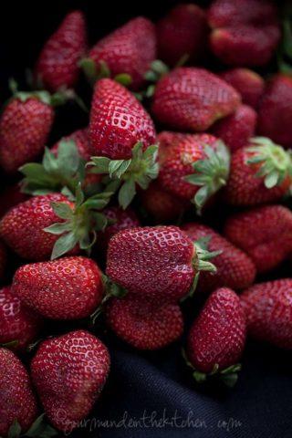 Strawberry Rosé Wine Granita Recipe