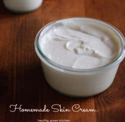 homemade skin cream