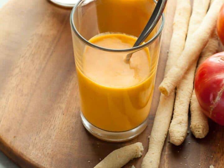 Chilled Vegan Tomato Soup (Paleo)
