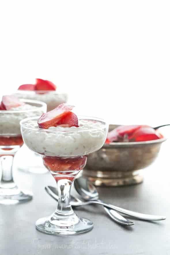 tapicoca pudding recipe, pudding recipe, coconut milk pudding recipe, vegan pudding recipe, paleo pudding recipe, roasted plums,