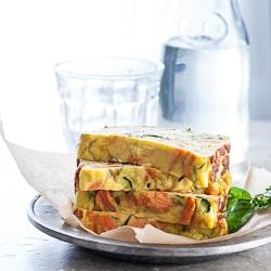 vegetable loaf, vegetable cake