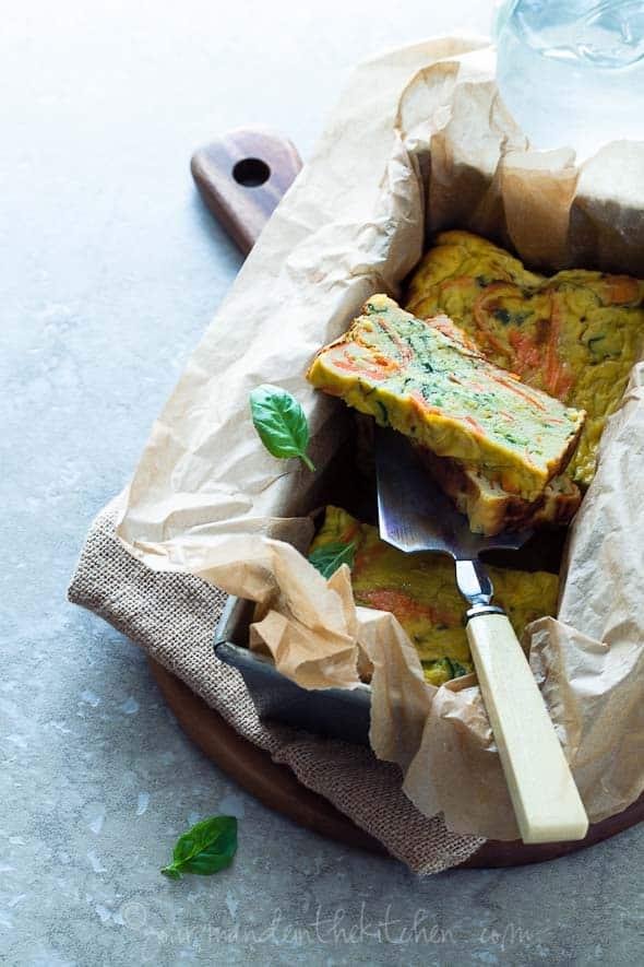 paleo vegetable loaf, vegetarian loaf cake, loaf cake recipe