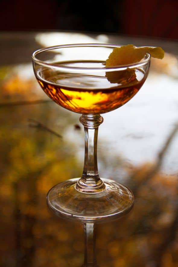 Autumn Ash Cocktail