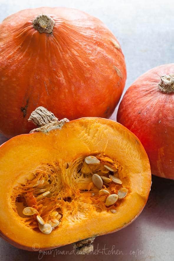 pumpkin, red kuri squash, hokkaido pumpkin