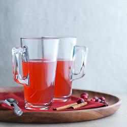 cranberry tea, detox tea, cranberry spice tea, mulled cranberry tea