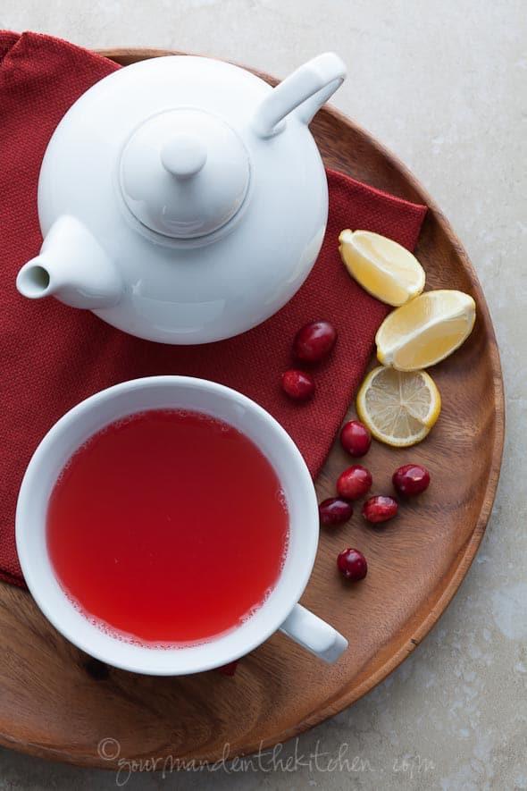 cranberry detox tea
