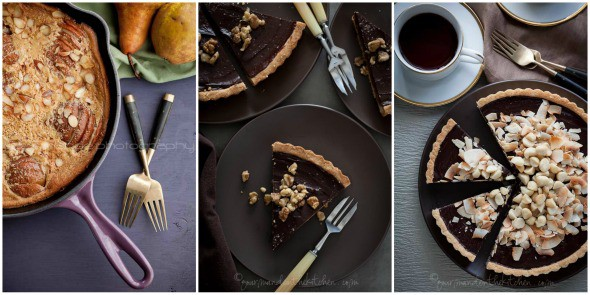 gluten-free tart recipes, paleo pie recipes
