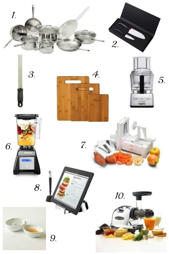 10 gift ideas for foodies