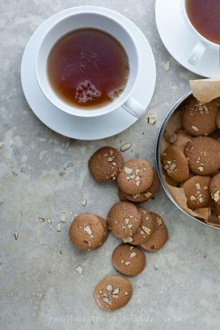 Gluten-Free Amaretti Thins | Crunchy Almond Cookies (Paleo)