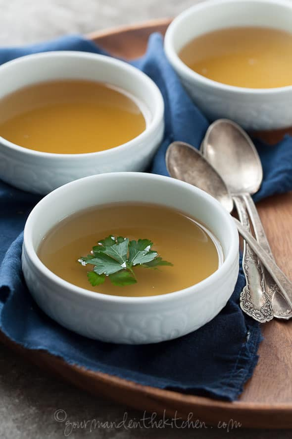 vegetable broth, broth for colds, detox soup