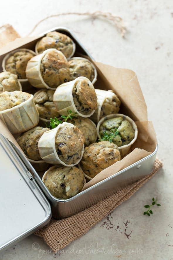 olive muffins, grain-free muffins