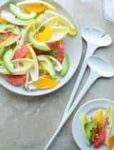 Citrus Endive Avocado Salad
