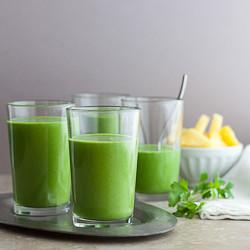 Drink Your Greens Smoothie gourmandeinthekitchen.com