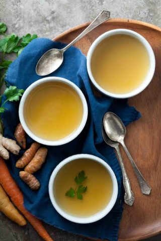 Restorative Detox Vegetable Broth | A Nourishing and Cleansing Soup
