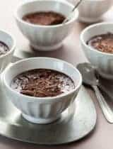 Earl Grey Chocolate Pots de Crème (Dairy-Free, Paleo Friendly)