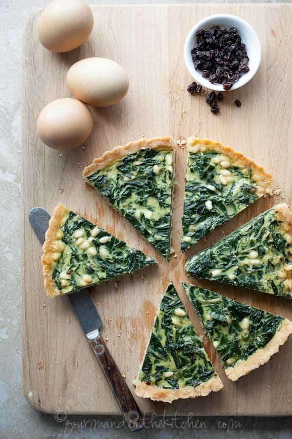 chard tart, gluten-free chard tart, grain-free chard tart, paleo chard tart, swiss chard tart, paleo pie