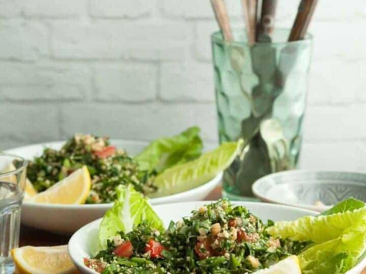 Grain-Free Cauliflower Tabbouleh Recipe