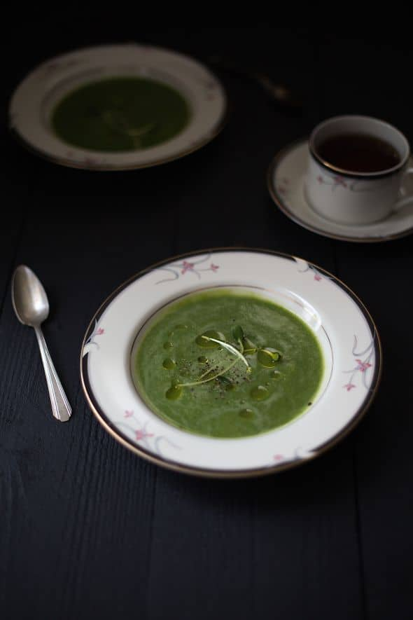 Broccoli Soup from The Slim Palate Paleo Cookbook