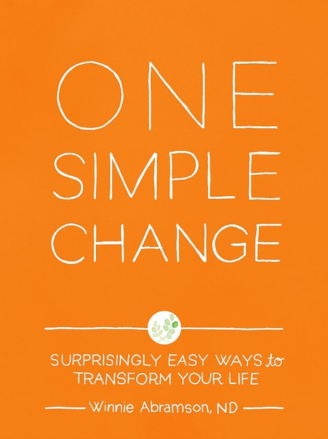 One Simple Change by Winnie Abramson Grain Free Fair Trade Chocolate Chip Cookies from One Simple Change and a Giveaway and Q&A with the Author