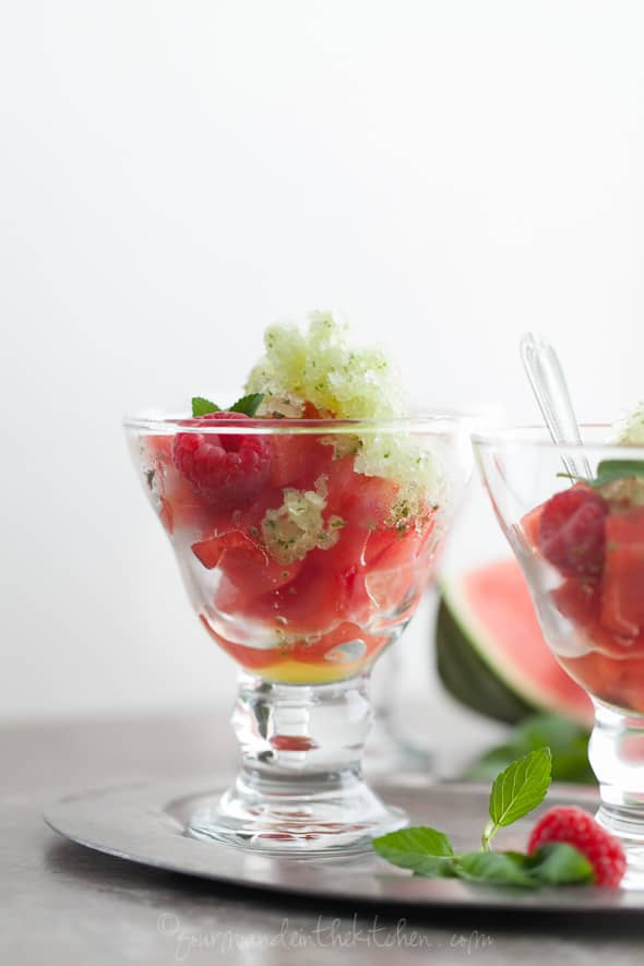 granita recipe, watermelon recipe, mint watermelon granita, summer ...