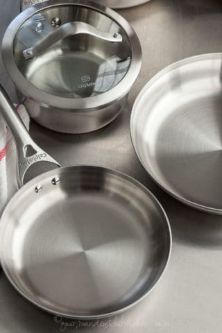 Couples Cooking | Calphalon Contemporary Stainless 8-piece Cookware Set Giveaway