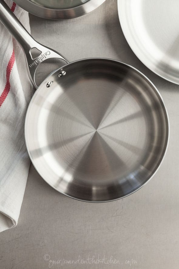 Couples Cooking, Calphalon Contemporary Stainless 8 Piece Set