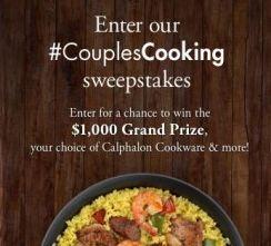 Calphalon #CouplesCooking Sweepstakes