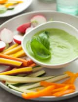 Creamy Basil Parsley Dip