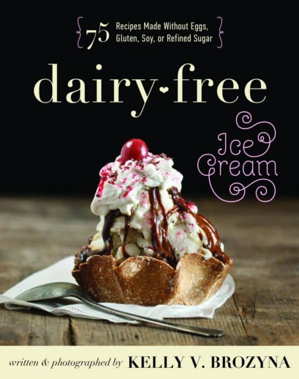 swiss almond ice cream from dairy-free ice cream | interview with the author and giveaway