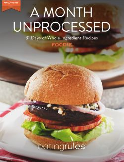 A Month Unprocessed Foodie App