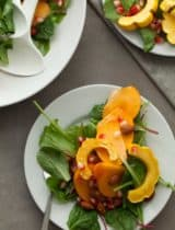... Squash Salad with Persimmons and Pomegranate Dijon Vinaigrette
