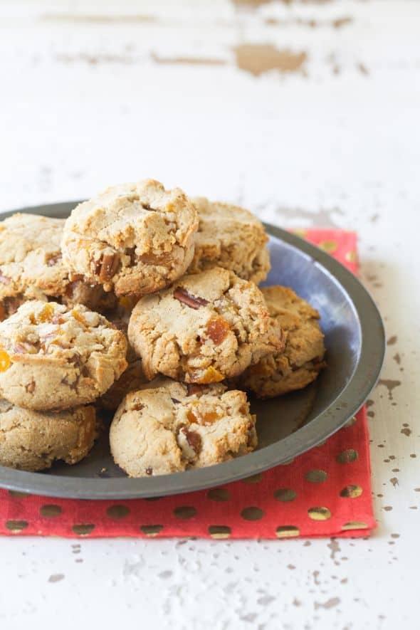 Grain-Free Apricot Pecan Cookies