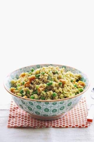 "Cauliflower ""Fried Rice"" From The Grain-Free Family Table"