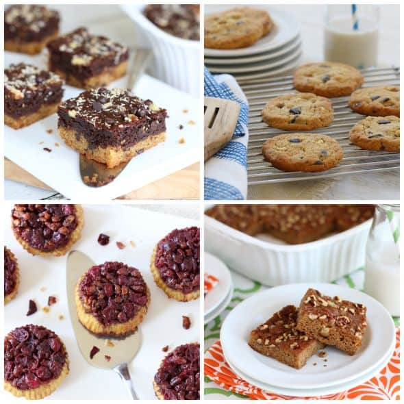 Desserts images from inside Everyday Grain-Free Baking