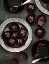 Almond Praline Chocolate Rochers