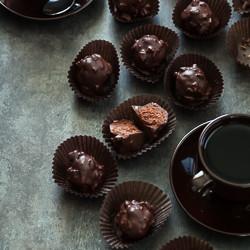 Praline Chocolate Rochers