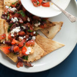 Grain-Free Pita Chips and Mediterranean Style Nachos