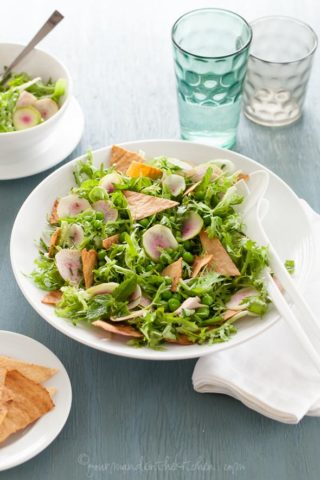 Spring Gluten-Free Fattoush Salad (Grain-Free)