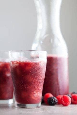 Chia Berry Agua Fresca