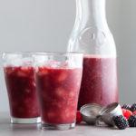 Berry Rosehips Chia Agua Fresca