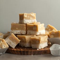 Maple Cashew Coconut Fudge