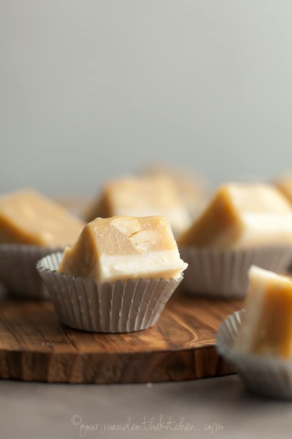 Maple Cashew Coconut Fudge