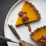 Carrot Ginger Tart (Raw, Vegan, Paleo) - Gourmande in the Kitchen