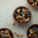 Sesame Nori Roasted Cashews | Gourmande in the Kitchen