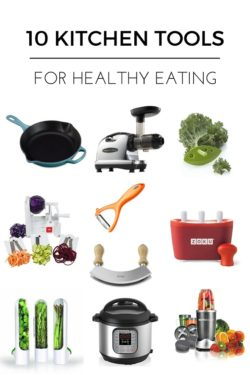 10 Kitchen Tools for Healthy Eating