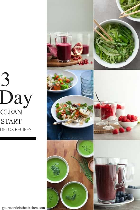 3 Day Clean Start Detox Recipes