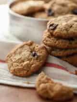 Cherry Cashew Cookies (Paleo, Grain-Free)