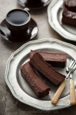 Chocolate Peppermint Silk Brownie Bars Gourmande in the Kitchen